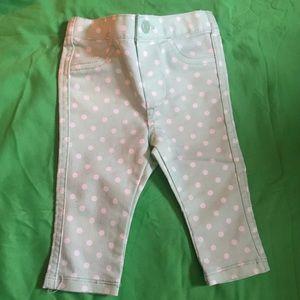 Cherokee Bottoms - Cherokee Polka Pant 3-6 Month for Babygirl $3